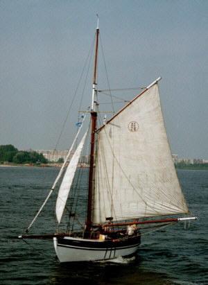 Lille Bjørn auf der Hanse Sail Rostock 2002