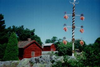 Freilichtmuseum Jan-Karls-Gården auf Åland