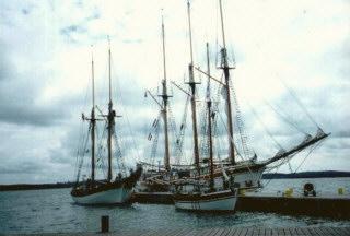 Das Seequartier im Osthafen von Mariehamn