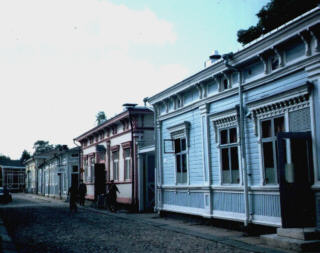 Die historische Altsstadt von Rauma